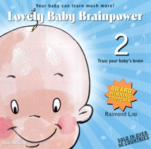 Lovely Baby Brainpower CD - 2-1864