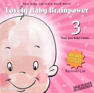 Lovely Baby Brainpower CD - 3-1865