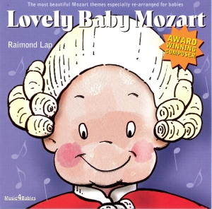 Lovely Baby Mozart (CD)-1876