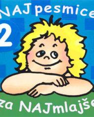 Naj pesmice za najmlajše 2 (CD)-1997