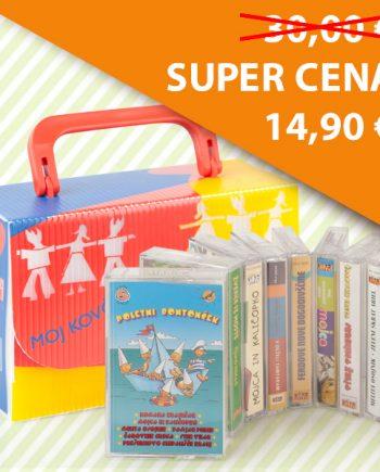 Kovček pesmic in pravljic (kasete)-2560